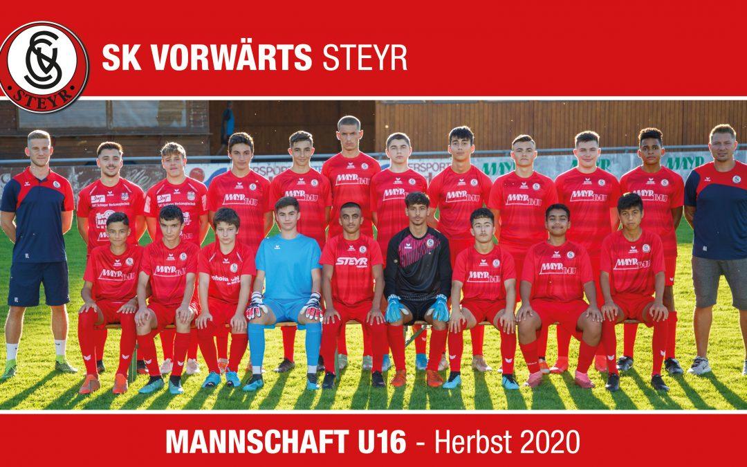 U16 Herbst 2020