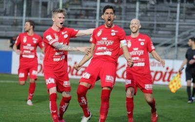 2. Liga   Derbysieg in Pasching
