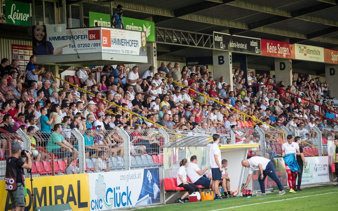 Fans Sitzplatz Tribüne