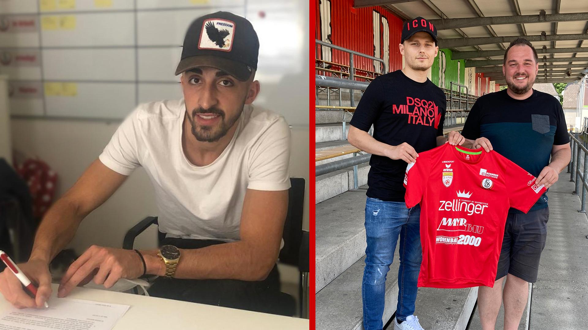 Jetmir Rama und Branislav Gavrilovic wechseln zu den Juniors