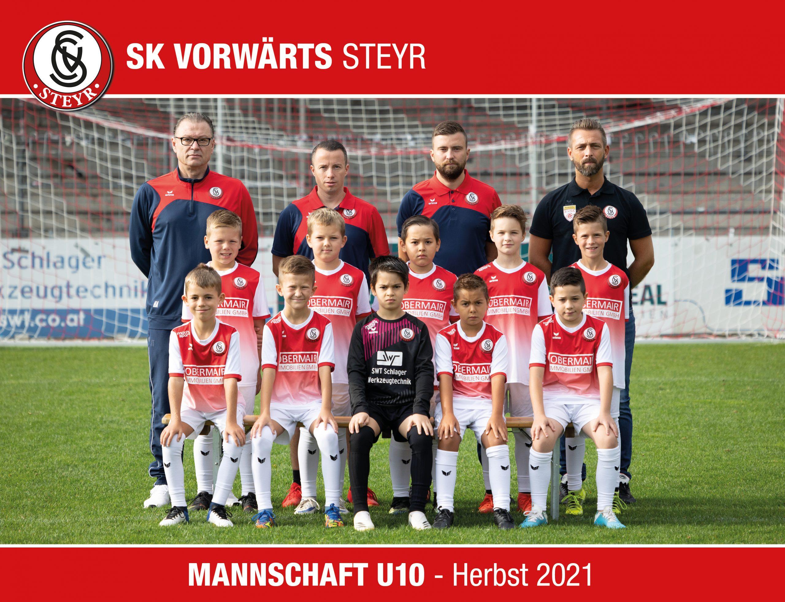 Mannschaftstofo U9 - Herbst 2020