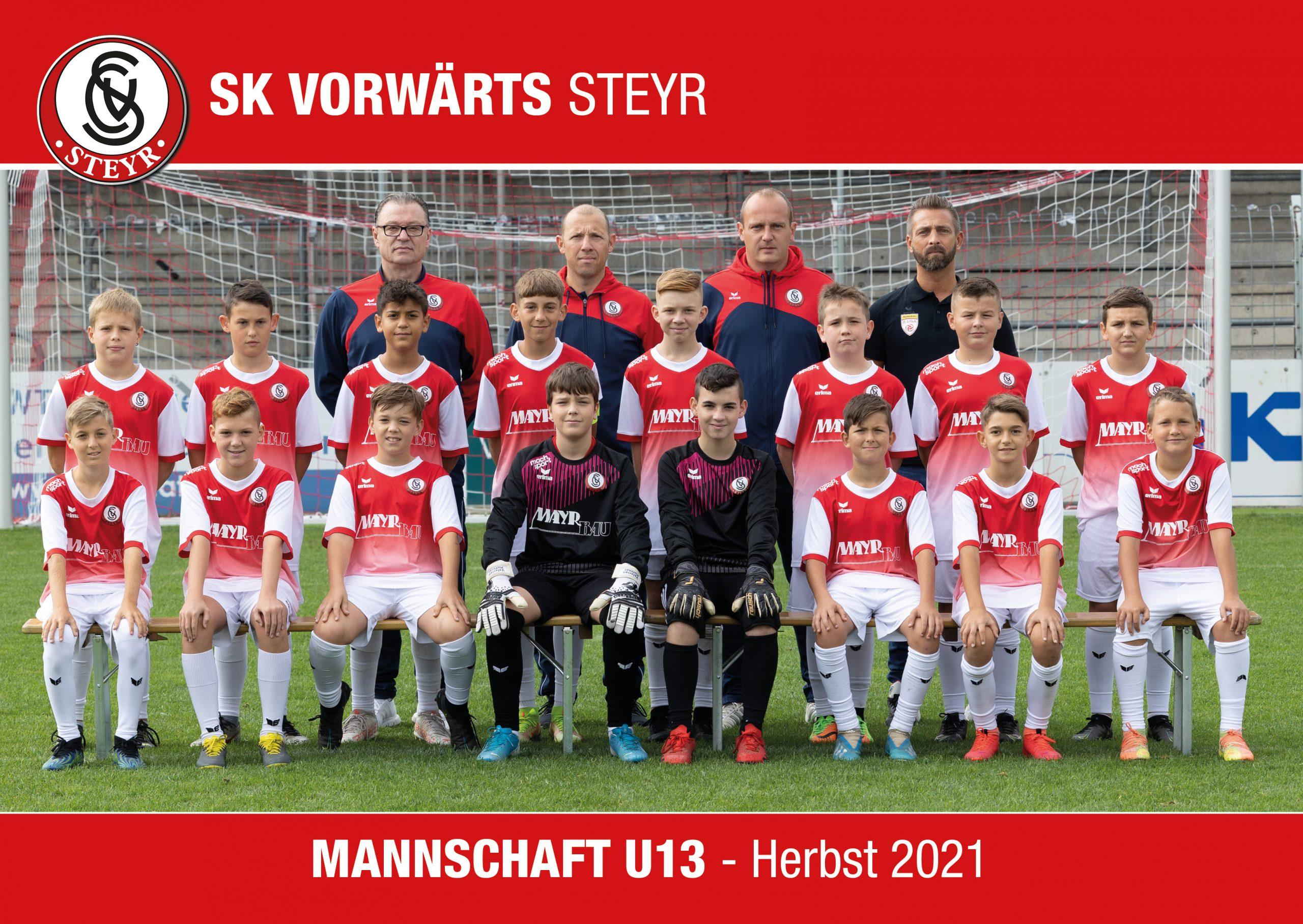 Mannschaftstofo U12 - Herbst 2020
