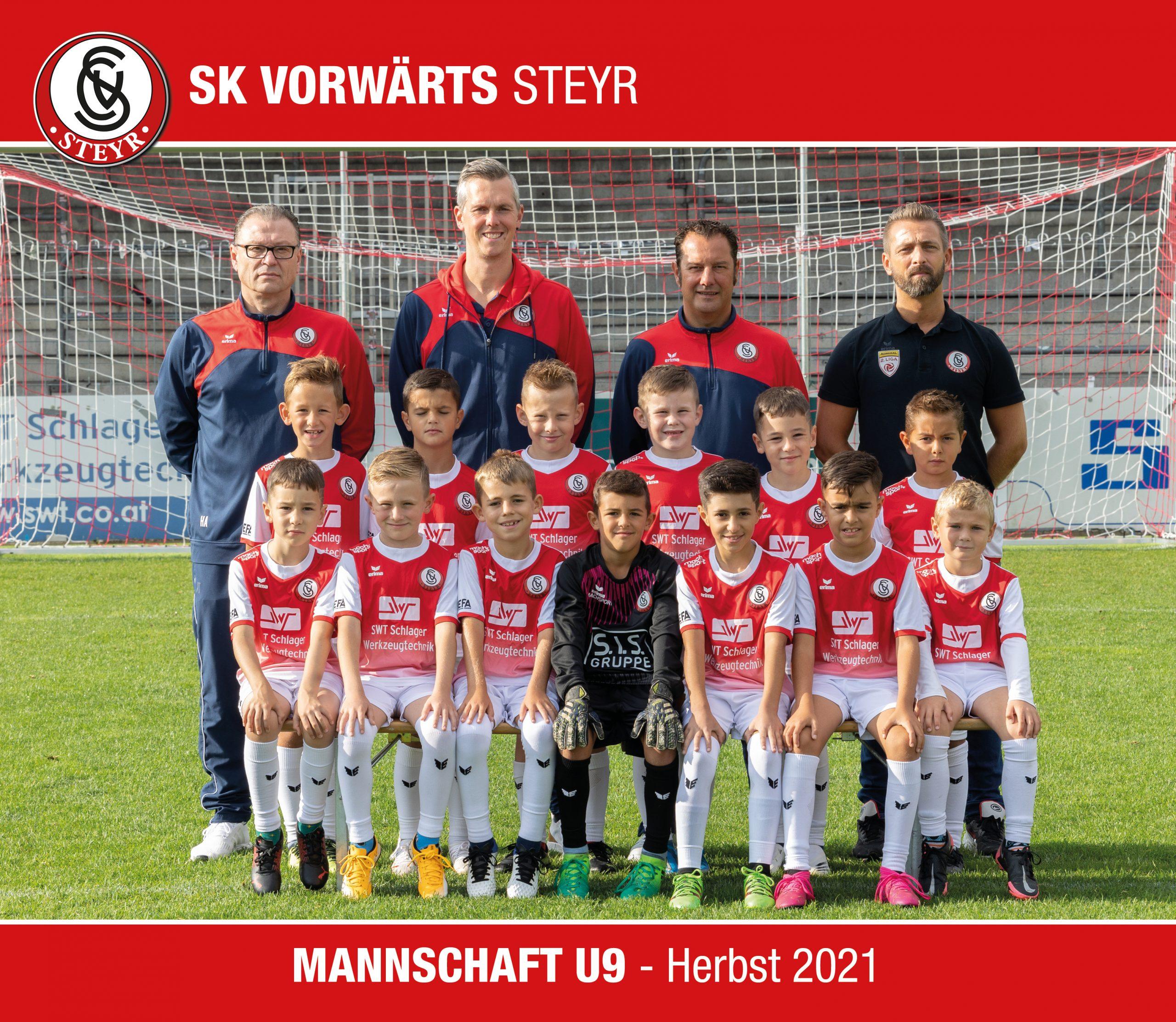 Mannschaftsfoto U8 - Herbst 2020