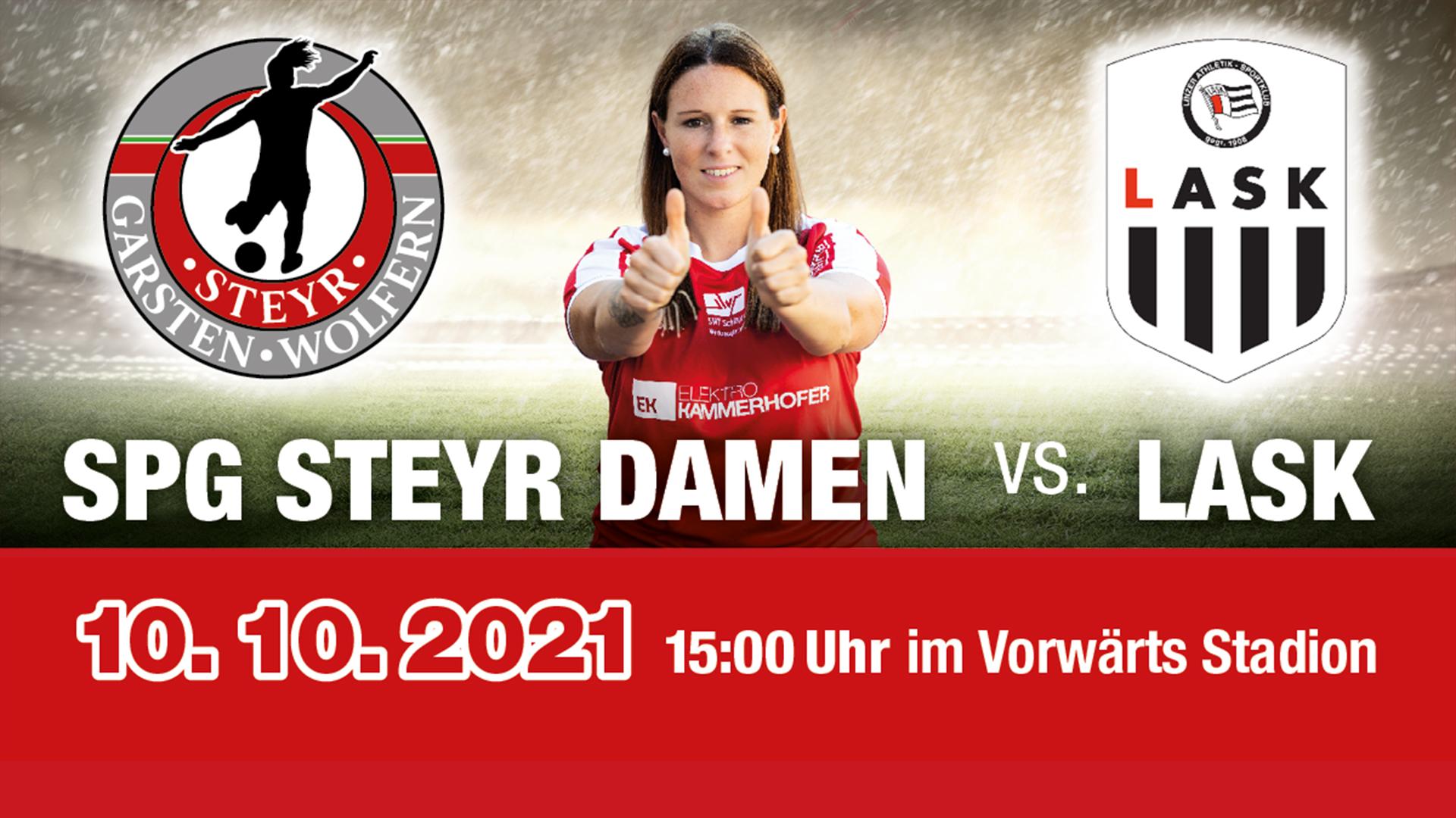 SPG Steyr Damen vs LASK Frauen